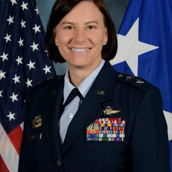 Maj Gen Sarah E. Zabel, USAF