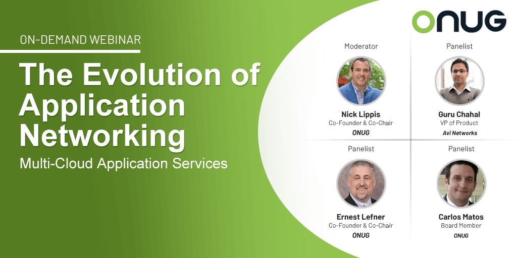 The Evolution of Application Networking Multi-Cloud Application Services