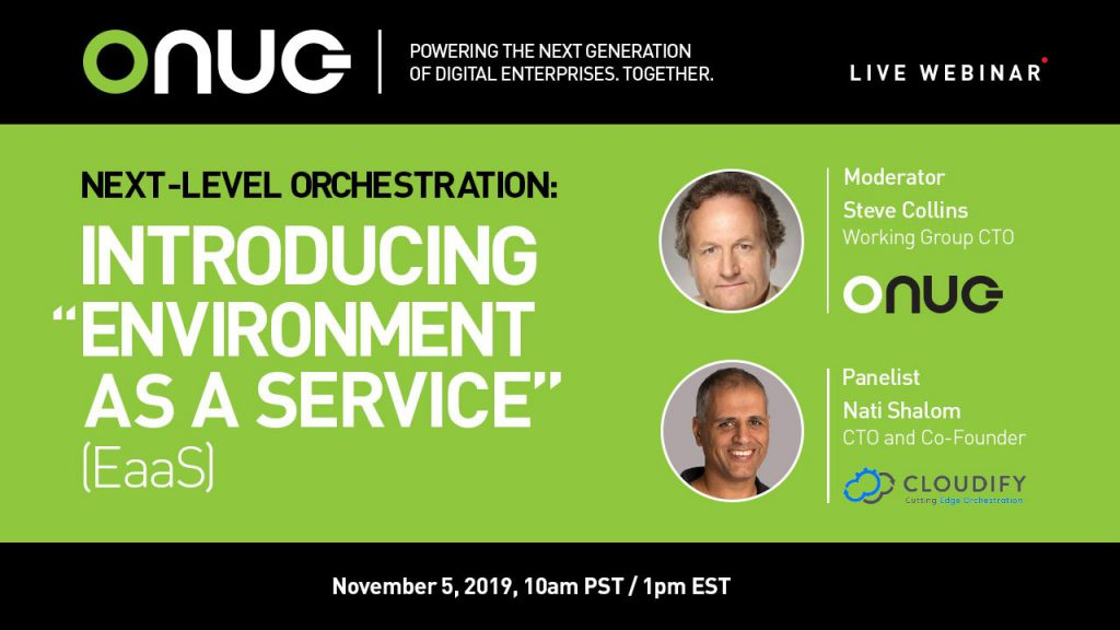 """Next-Level Orchestration: Introducing """"Environment as a Service"""" (EaaS)"""