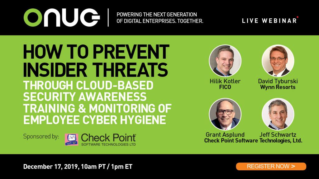 How to Prevent Insider Threats through Cloud-based Security Awareness Training & Monitoring of Employee Cyber Hygiene