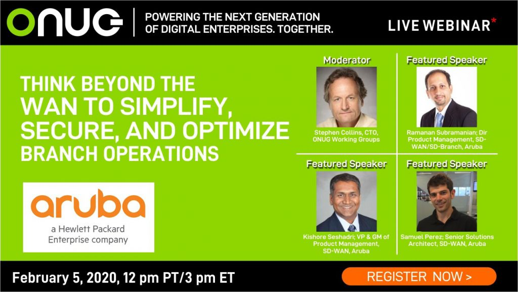 Think Beyond the WAN to Simplify, Secure, and Optimize  Branch Operations