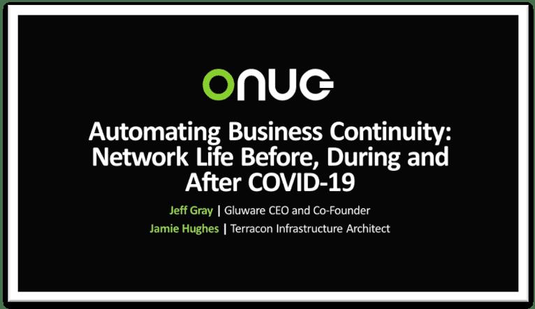 ONUG Digital Live 2020