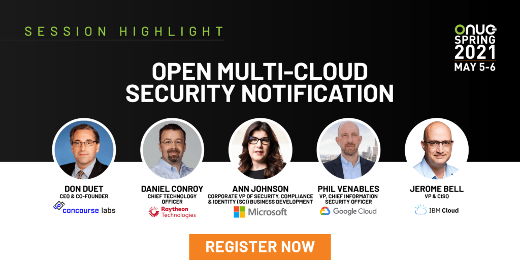 Open Multi-Cloud Security Notification