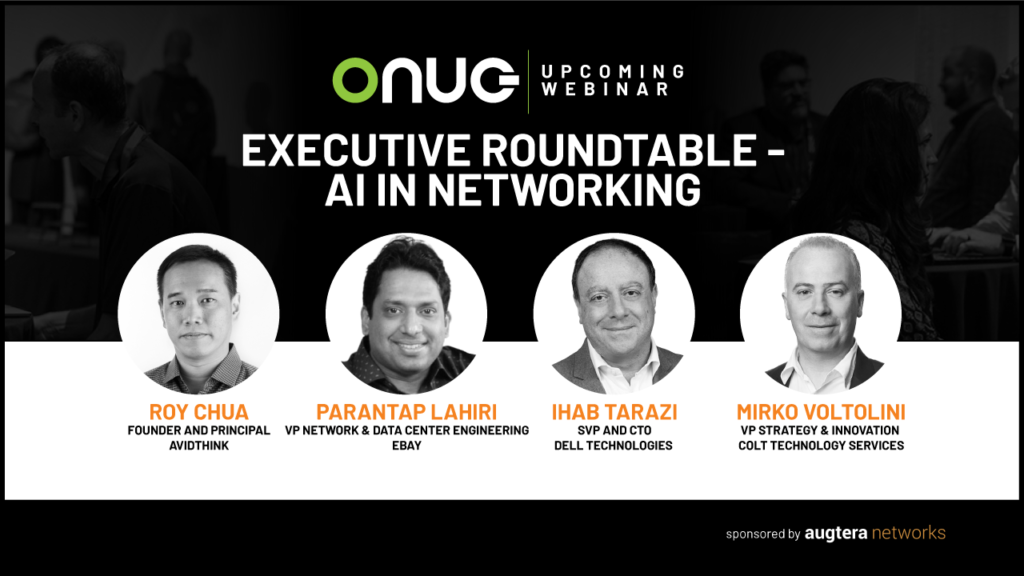 Augtera | Executive Roundtable – AI in Networking