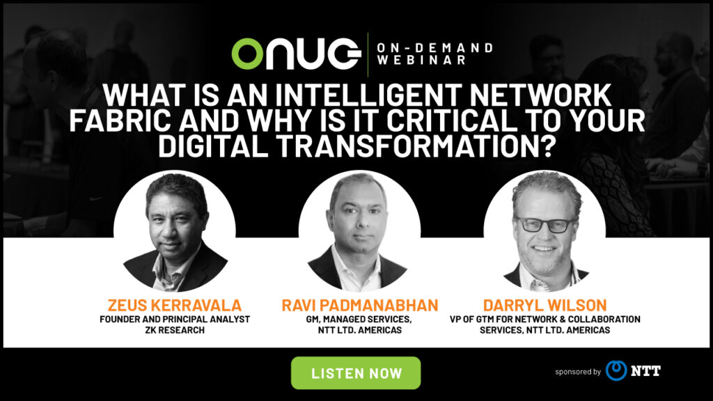 NTT | What Is an Intelligent Network Fabric and Why Is It Critical to Your Digital Transformation?