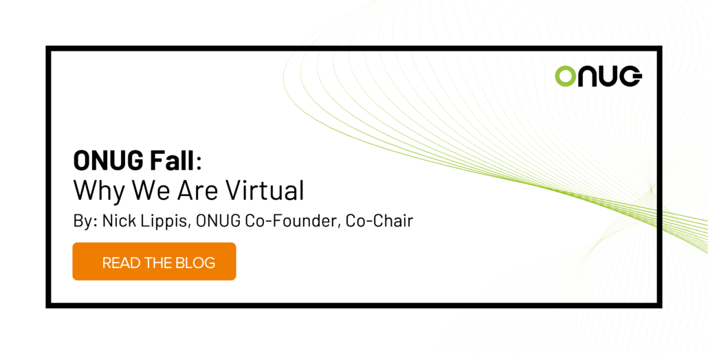 ONUG Fall: Why We Are Virtual