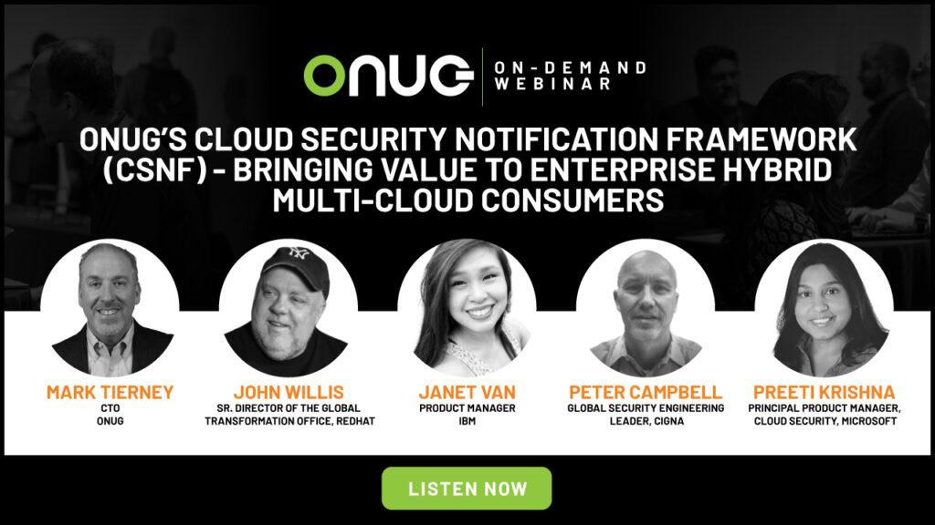 CSNF | Bringing Value to Enterprise Hybrid Multi-Cloud Consumers
