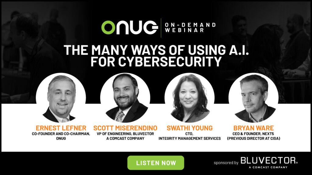 Fireside Chat | BluVector – The Many Ways of Using A.I. for Cybersecurity