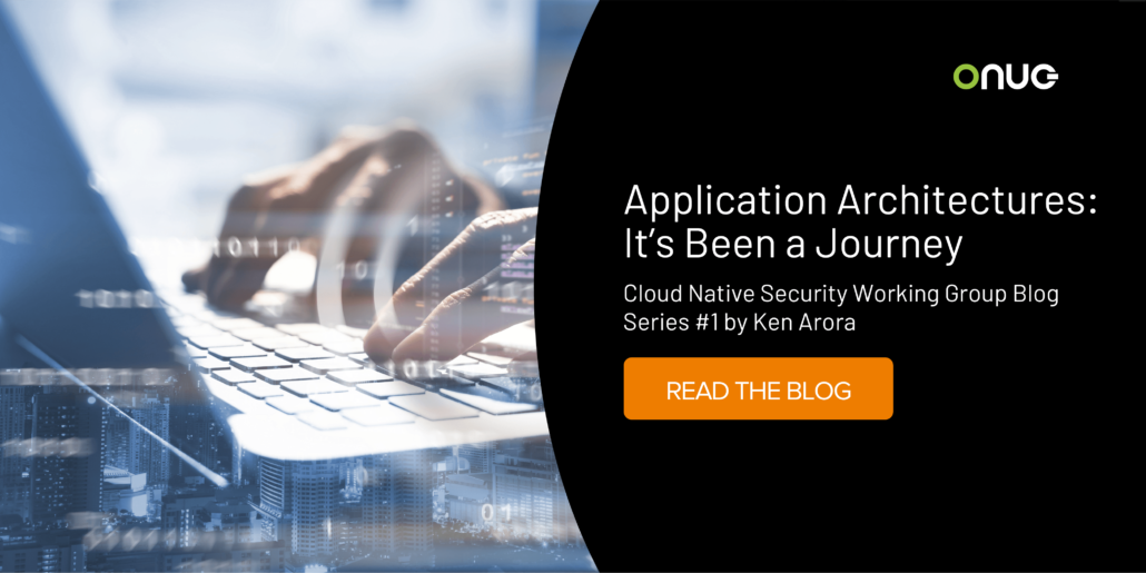 Application Architectures: It's been a journey
