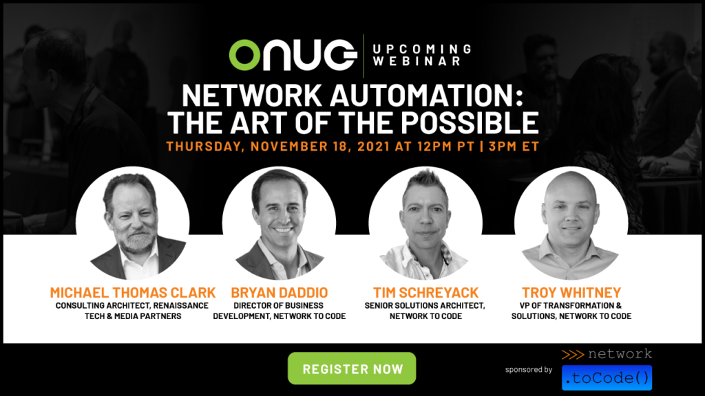 Network Automation: The Art of the Possible